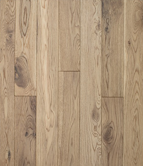 "Bella Legno 3 1/4"" x 3/4"" Solid White Oak Leather Brushed Premium Grade (23.58 sq.ft/ctn)"