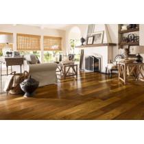 Armstrong Flooring American Scrape Hardwood Engineered Walnut  - Desert Scrape Room Scene