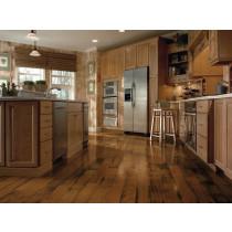 Bruce American Originals Lock & Fold Engineered Hickory Premium - Sunset Sand Kitchen Scene