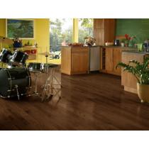 Bruce Dundee Wide Plank Solid Red Oak Premium - Mocha Room Scene