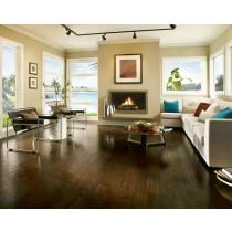 Bruce Frontier Hand Scraped Engineered Wide Plank Hickory Premium - Brushed Tumbleweed Room Scene