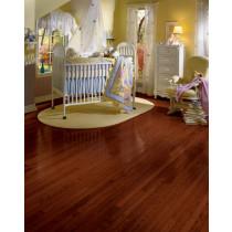 Bruce Manchester Plank Solid Red Oak Premium - Cherry Room Scene