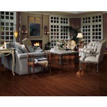 Bruce Natural Choice Strip Low Gloss Solid White Oak Premium - Sierra Room Scene