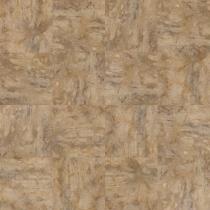"Shaw Resort Tile LVT Caramel 16"" swatch"