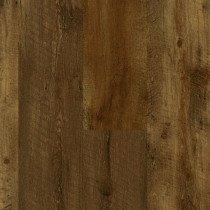 Armstrong Luxe Plank with Rigid Core Farmhouse Plank Rugged Brown LVT Premium(28.52 sq ft/ctn)