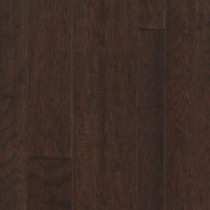 "Mohawk Weathered Portrait 3""/5""/7"" x 3/8"" Hickory Engineered Espresso Hickory"