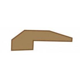 "Home Legend 78"" Carpet Reducer - for 1/2"" planks"