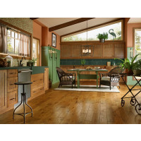 """Armstrong Flooring Rural Living Hand Scraped Engineered Hickory 1/2"""" x 5""""(28 sq ft/ctn)"""