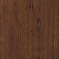 "Mohawk Henley Soft Scrape 5"" x 3/8"" Hickory Engineered Chocolate Premium(28.25 sq ft/ctn)"