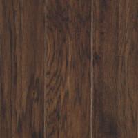 "Mohawk Henley Soft Scrape 5"" x 3/8"" Hickory Engineered Mocha Premium(28.25 sq ft/ctn)"