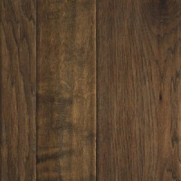 "Mohawk Weathered Portrait 3""/5""/7"" x 3/8"" Hickory Engineered Sepia Hickory Premium(29.85 sq ft/ctn)"