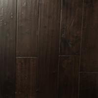 "Hardwood Flooring :Infinity Hevea Handscraped 5"" x 3/4"" Oxblood Premium(22.73 sq ft/ctn)"