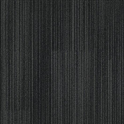 "Shaw Achromatic Carpet Tile Black 18"" x 36"" Builder(45 sq ft/ctn)"