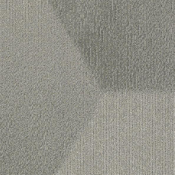 "Shaw Bevel Hexagon Carpet Tile Pewter 24.9"" x 28.8"" x 14.4"" Builder(45 sq ft/ctn)"