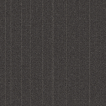 "Aladdin Commercial Rule Breaker Stripe Carpet Tile Charcoal 24"" x 24"" Premium"