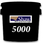 Shaw Carpet Tile Pressure Sensitive D5000 Adhesive 4 Gallon